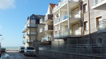 Fort-Mahon-Plage, 50m mer appartement T3 terrasse