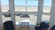 Quend-Plage face mer appartement T2-Cabine avec parking