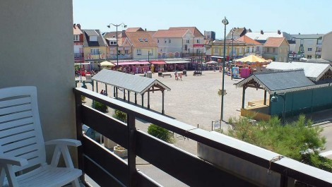 Quend-Plage, appartement T2 avec parking