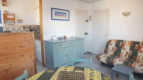 Fort-Mahon, Appartement T2 proche plage