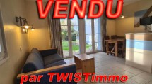 VENDU – Fort-Mahon Belledune appartement T2 terrasse et parking